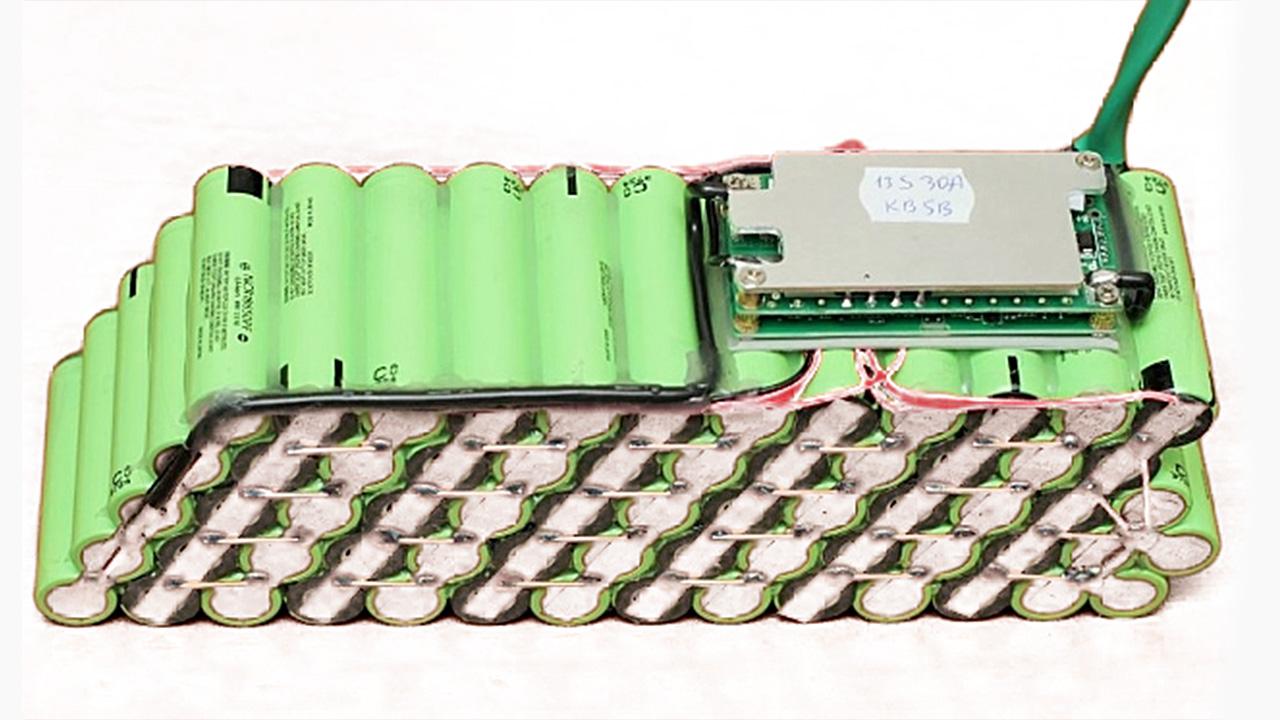 Сборка аккумулятора из 18650